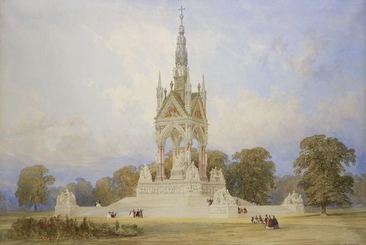 Design for the Memorial to the Prince Consort, Kensington Gardens