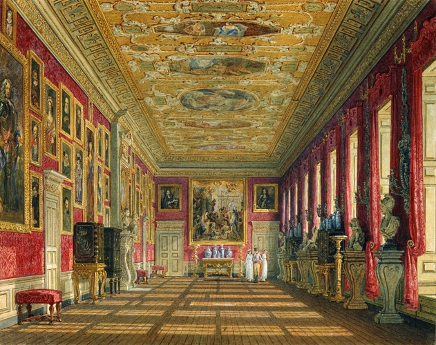 Charles Wild 1781 1835 Kensington Palace The King S