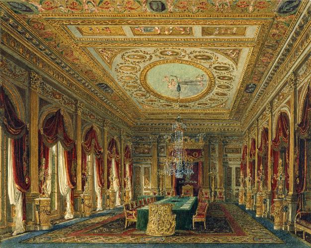 Carlton House: The Throne Room