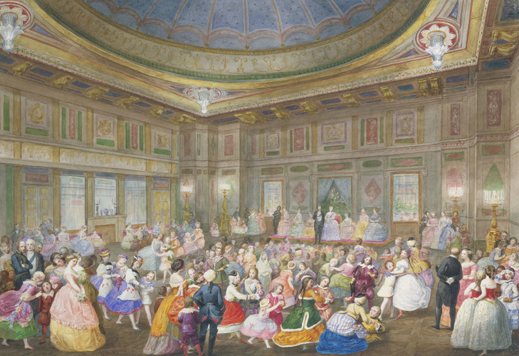 The Children's Fancy Ball at Buckingham Palace, 7th April 1859