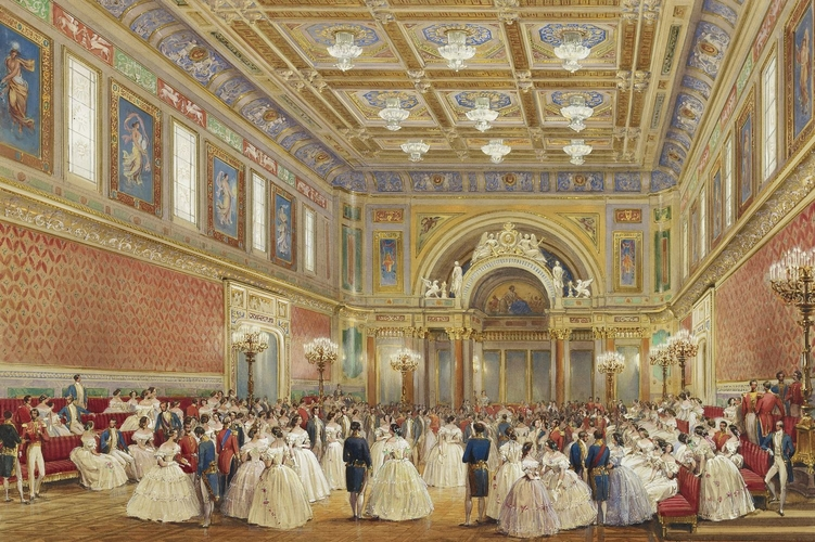 The Ballroom, Buckingham Palace, 17 June 1856