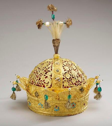 Crown of the Emperor Bahadur Shah II