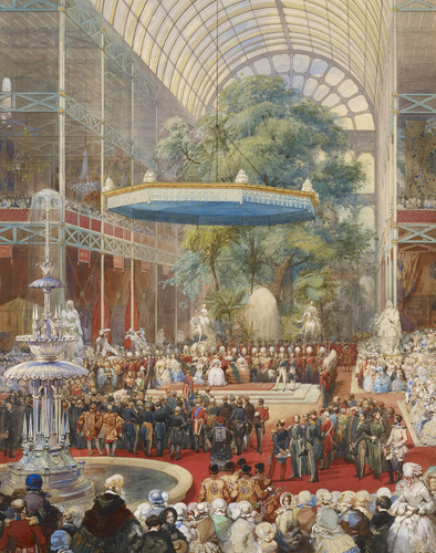 The opening of the Great Exhibition 1851
