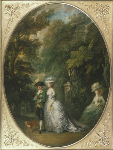 Henry, Duke of Cumberland (1745-1790) with the Duchess of Cumberland (1743-1808) and Lady Elizabeth Luttrell (d. 1799)