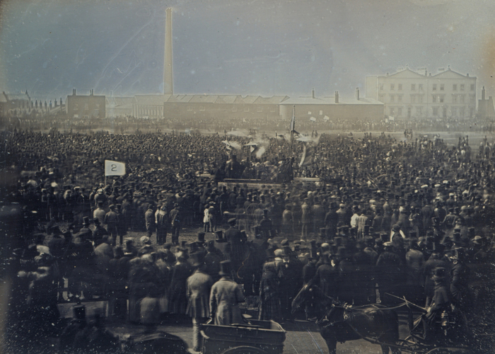 The Chartist Meeting on Kennington Common, 10 April 1848