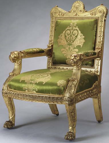 Master: Set of open armchairs