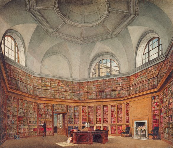 Buckingham House: The Octagon Library