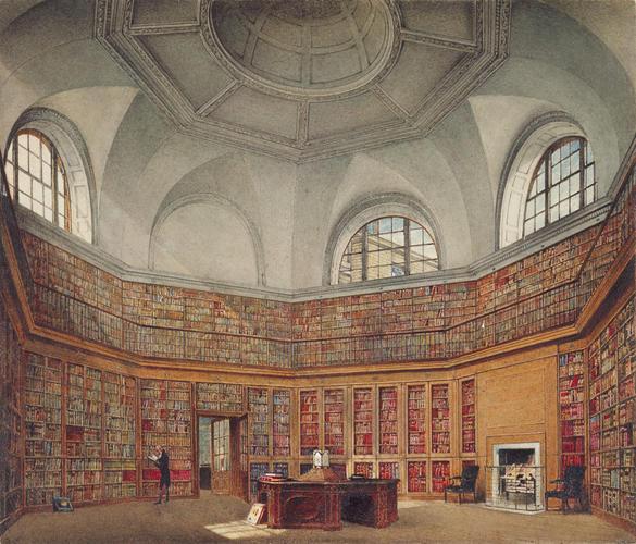 Buckingham House: The Octagon Library