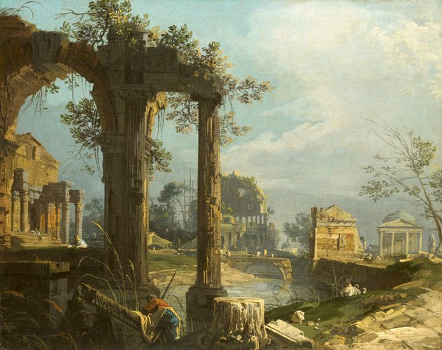 A Capriccio View with Ruins