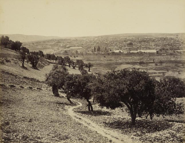 Jerusalem, From Mount of Olives
