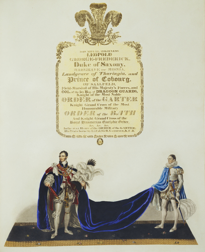 Ceremonial of the Coronation of King George IV in the Abbey of St. Peter's Westminster / by John Whittaker