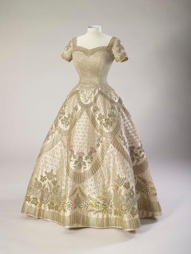 The Coronation Dress of Her Majesty Queen Elizabeth II