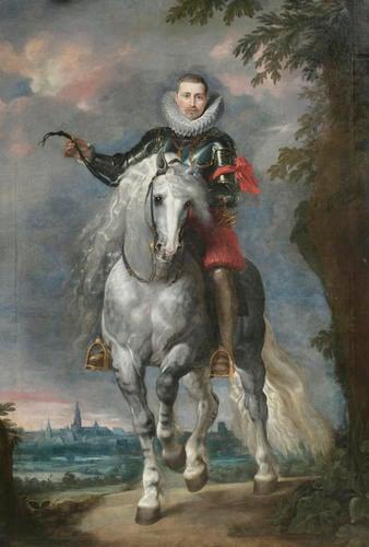 Portrait of Don Rodrigo Calderon on Horseback (1577/8-1625)