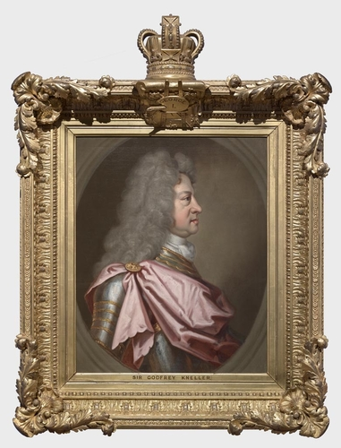 Frame for RCIN 403401, Kneller, George I, King of Great Britain and Ireland, Elector of Hanover