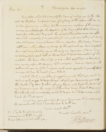 Autograph letters from the correspondence of John Jay . . . from 1776 to 1794 : bearing upon the American Revolution, and the treaties between the United States and Great Britain negociated by Jay in