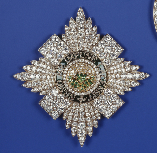 Order of the Thistle. King George V's star