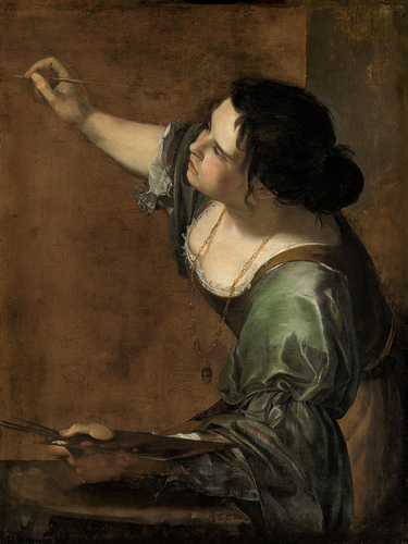 Self-Portrait as the Allegory of Painting (La Pittura)