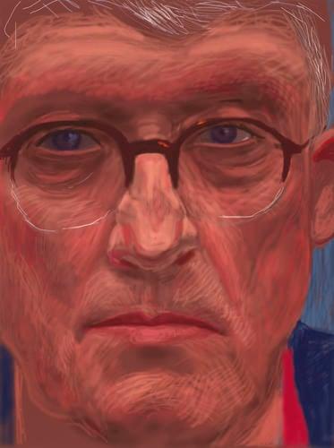 Self-Portrait, 6 April 2012