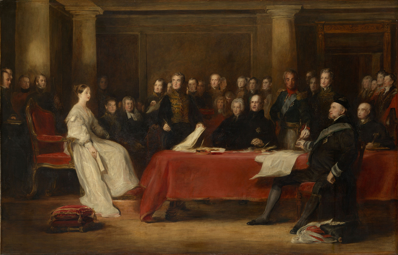 The First Council of Queen Victoria
