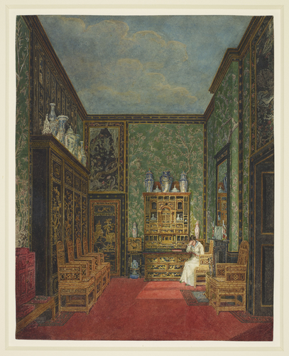 Frogmore House: The Green Closet