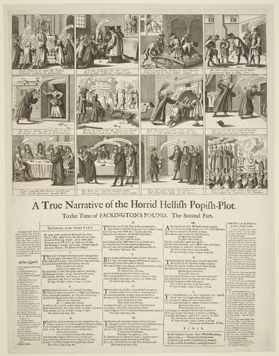 Master: A True Narrative of the Horrid Hellish Popish-Plot. To the Tune of PACKINGTON'S POUND Item: A True Narrative of the Horrid Hellish Popish-Plot. To the Tune of PACKINGTON'S POUND. The Second