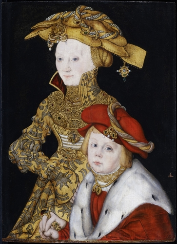 Portrait of a Lady and her Son