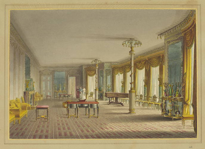Master: Illustrations of Her Majesty's Palace at Brighton; formerly the Pavilion: executed by the Command of King George the Fourth, under the Superintendence of John Nash, Esq. , architect : to whic