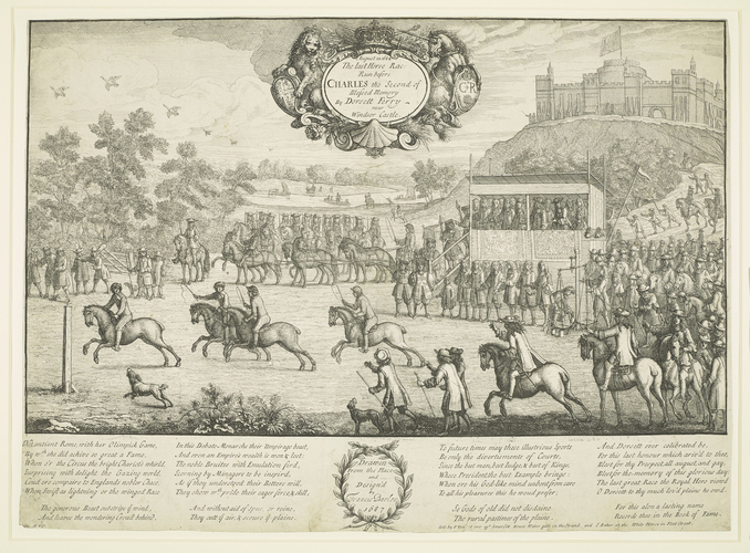 The Last Horse Race Run before CHARLES the Second of Blessed Memory by Dorsett Ferry near Windsor Castle