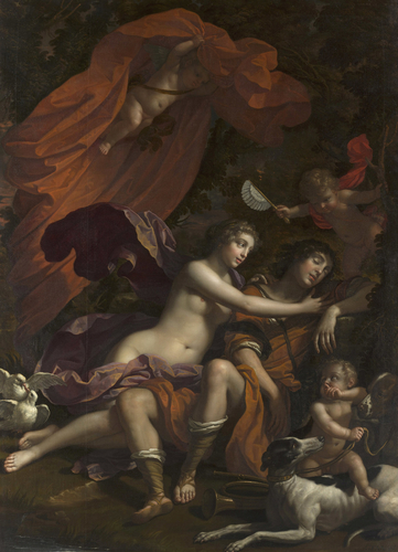 Venus and the Sleeping Adonis