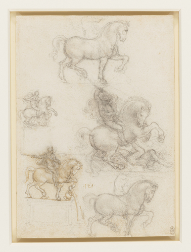 Studies for an equestrian monument