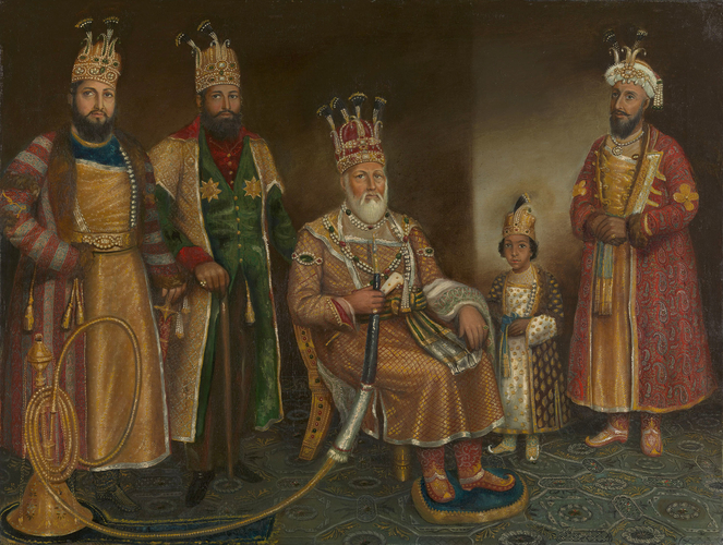 Akbar Shah II and his sons