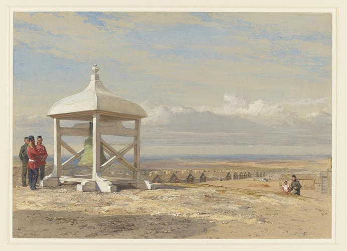 The bell brought from Sebastopol, at Aldershot