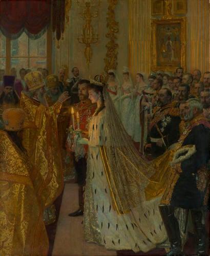 The Marriage of Nicholas II, Tsar of Russia, 26th November 1894
