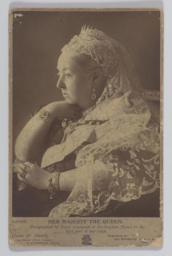 Portrait of Queen Victoria (1819-1901) during her Diamond Jubilee, 1897