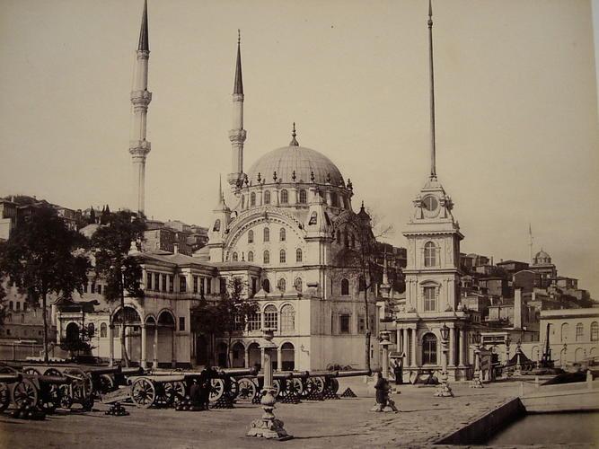 Mosque of Tophana [Mosque of Nusretiye, Istanbul, Turkey]