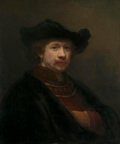 Self-Portrait in a Flat Cap