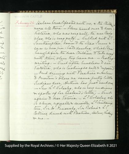 Queen Victoria's Journal