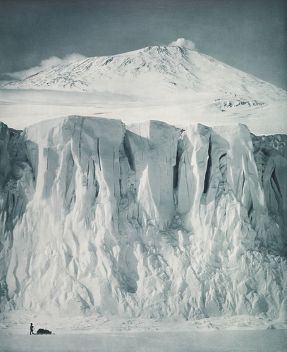 The ramparts of Mount Erebus
