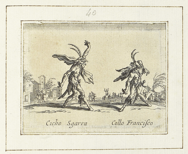 Master: Balli di Sfessania Item: Cicho Sgarra and Collo Francisco