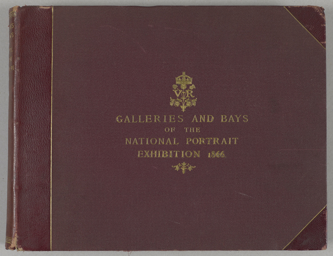 Galleries and Bays of the National Portrait Exhibition, 1866, shown in seventy-seven photographs