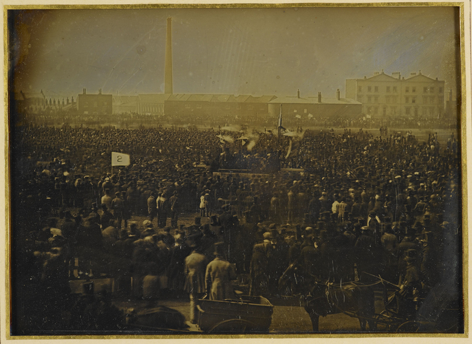 The Chartist Meeting on Kennington Common, 10 April 1848