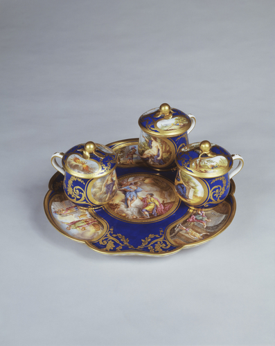 Pots a jus (part of the Louis XVI dinner service)