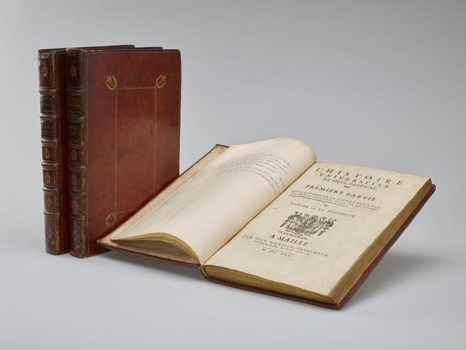 L'Histoire universelle du Sieur d'Aubigne. Tome second . . . [1571-1585]