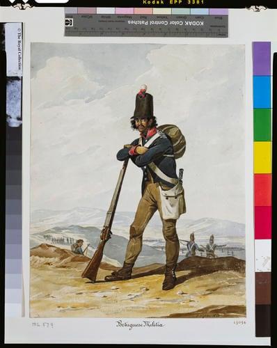 Portuguese Army, Militia, 1812