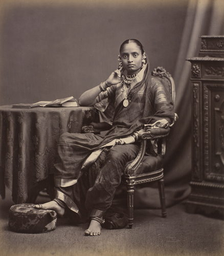 The Maharani Jamnabai of Baroda (1853-98): Prince of Wales Tour of India 1875-6