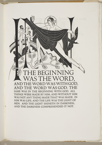 The Four Gospels of the Lord Jesus Christ, according to the Authorized version of King James I ; illustrated by Eric Gill