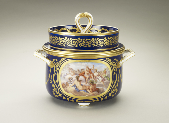 Jatte a glace (part of the Louis XVI dinner service)