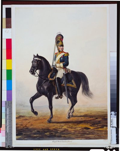 British Army. Senior Non-Commissioned Officer, Royal Horse Guards (The Blues). About 1816