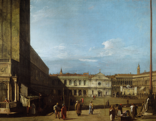 Piazza San Marco looking West towards San Geminiano