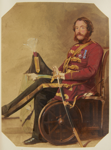 Colonel Sir Thomas St Vincent Troubridge (1815-67)